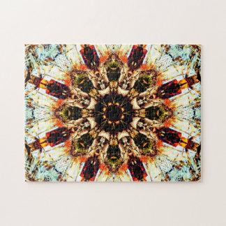 Puzzle Mandala de relaxation de l'art abstrait |