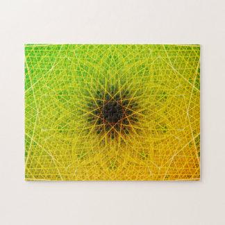 Puzzle Mandala foncé de relaxation de l'étoile | de