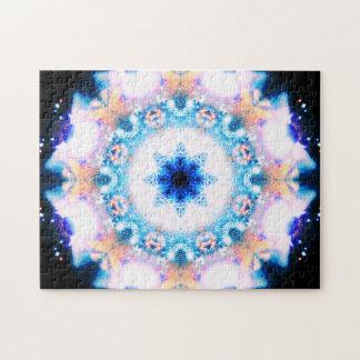 Puzzle Mandala métaphysique de relaxation de la fleur |