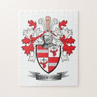 Puzzle Manteau de crête de famille de Crawford des bras