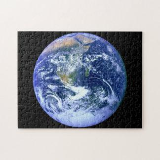 Puzzle Marbre de bleu de la terre