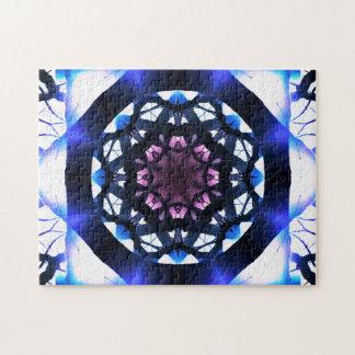 Puzzle Méditation vibrante du mandala | d'étoile