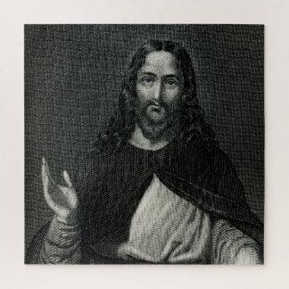 Puzzle Monochrome religieux de Jésus