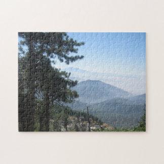 Puzzle Montagnes de la Californie