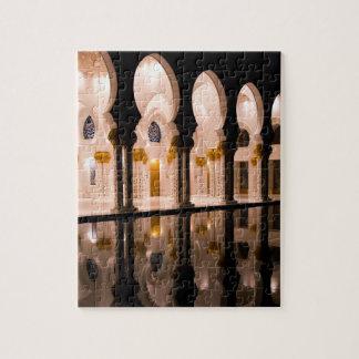 Puzzle Mosquée de cheik Zayed Grand à Abu Dhabi, arums