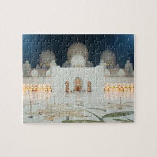 Puzzle Mosquée grande, Abu Dhabi, EAU, Emirats Arabes