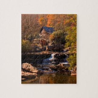 Puzzle Moulin d'automne