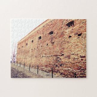 Puzzle Mur de briques médiéval de forteresse