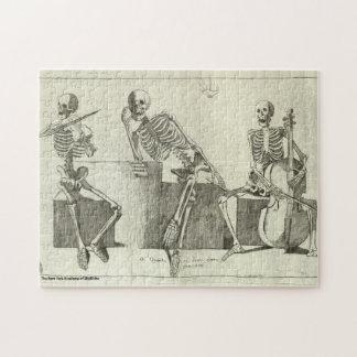 Puzzle Musiciens squelettiques