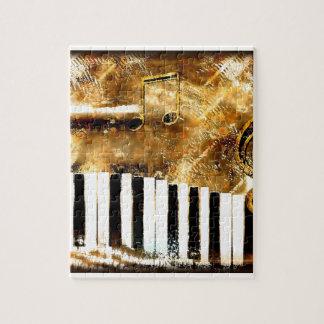 Puzzle Musique de piano