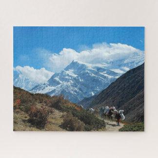 Puzzle Neige de nature de l'Inde Népal de montagne de