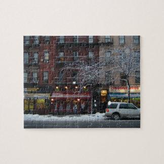 Puzzle Neige supérieure NYC de New York de côté Ouest