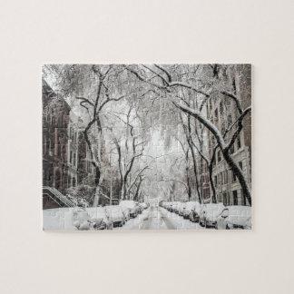 Puzzle New York en hiver