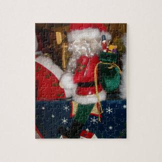 Puzzle Noël de Skeezer avec des vacances heureuses de