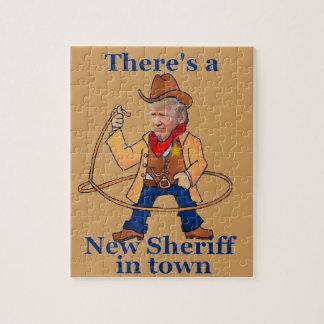 Puzzle Nouveau shérif d'ATOUT