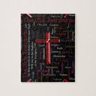 Puzzle Nuage noir religieux de mot