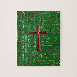 Puzzle Nuage vert religieux de mot