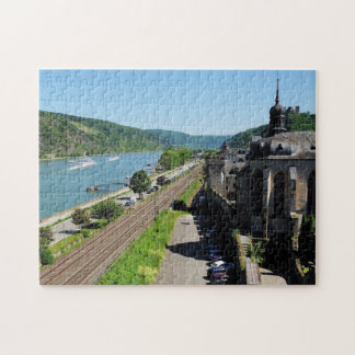 Puzzle Oberwesel au Rhin