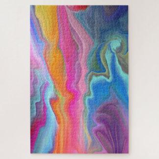 Puzzle Ondulations de couleur