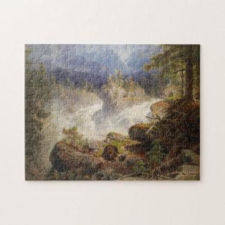 Puzzle Ours dans les bois par le cru de Georg Saal
