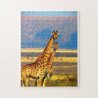 Puzzle Paires de girafes