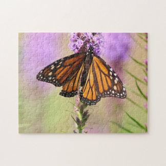 Puzzle Papillon de monarque