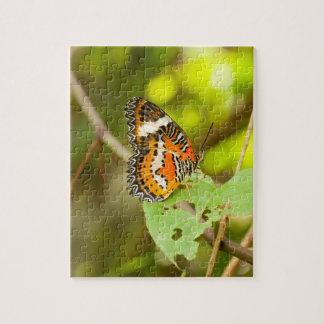 Puzzle Papillon rouge de lacewing, biblis de Cethosia