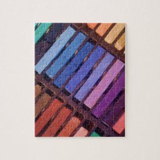 Puzzle Pastels de la couleur de l'artiste