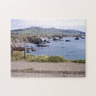 Puzzle Paysage de paysage de la Californie du point de