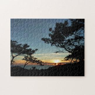 Puzzle Paysage du coucher du soleil III la Californie de
