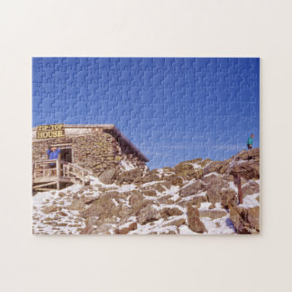 Puzzle Paysage historique supérieur de montagne rocheuse