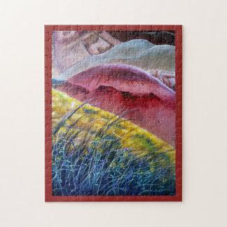 Puzzle peint des collines 2