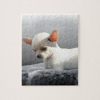 Puzzle Peinture se reposante d'art de portrait de chien