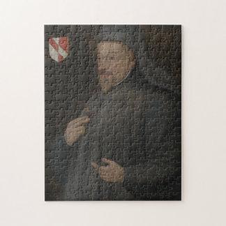 Puzzle Peinture vintage de portrait de Geoffrey Chaucer