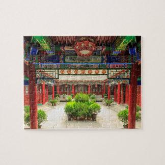 Puzzle Petit temple sauvage d'oie, Chine