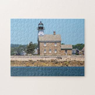 Puzzle Phare d'île de Sheffield, le Connecticut