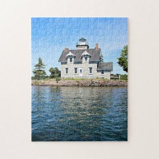 Puzzle Phare d'îles de soeur, 1.000 îles New York