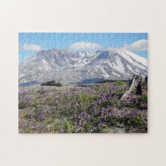 Puzzle Photo de ressort du Mont Saint Helens