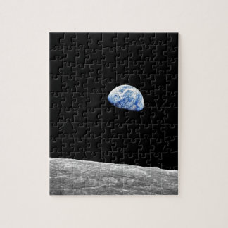 Puzzle Photo lunaire d'orbite de lune de la NASA Apollo 8