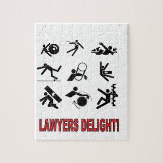Puzzle plaisir d'avocats