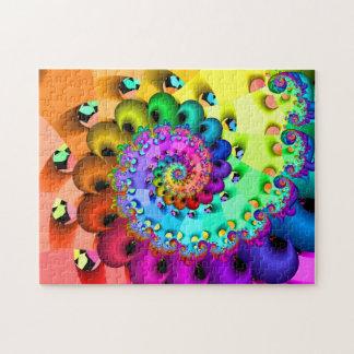 Puzzle Plaisir en spirale de fractale