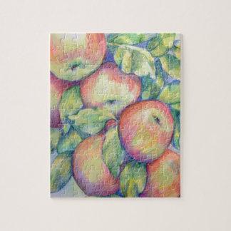 Puzzle Pommes de colline de dépôt
