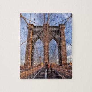 Puzzle Pont de Brooklyn iconique de point de repère de