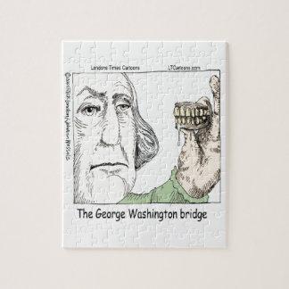 Puzzle Pont de George Washington et cadeau drôle de