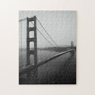 Puzzle Pont iconique de San Francisco dans B&W