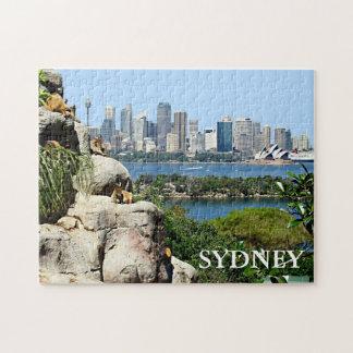 Puzzle Port de Sydney du zoo