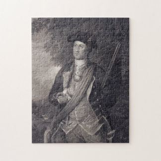 Puzzle Portrait vintage de George Washington