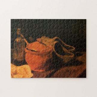 Puzzle Poterie de terre de Van Gogh, bouteille, entraves,