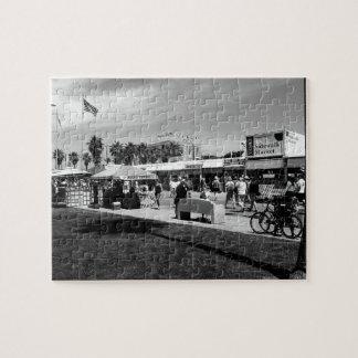 Puzzle Promenade de plage de Venise