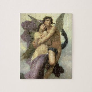 Puzzle Ravissement par Bouguereau, anges victoriens